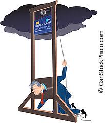 Credit card guillotine