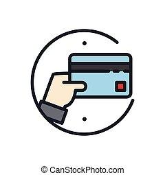 credit card icon color