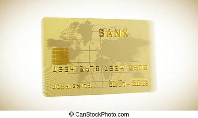 Credit card in HD