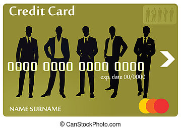 Credit card men