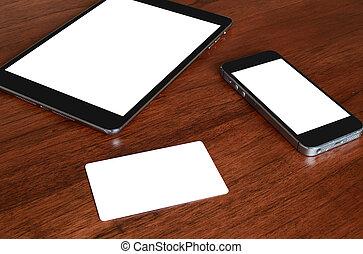 credit card & phone
