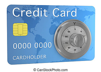 credit card secure - one credit card with a combination...