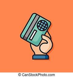credit card vector icon