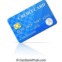 Credit Card. Vector illustration