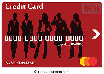 Credit card women