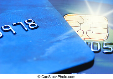 Credit cards (shallow DoF)