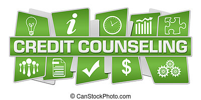 Credit Counseling Green Symbols Top Bottom - Credit ...