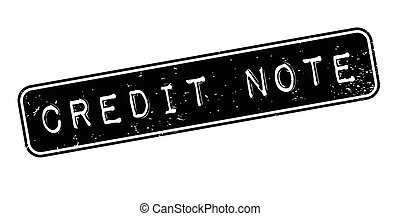 Credit Note rubber stamp
