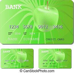 credit or debit green card