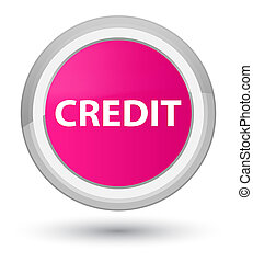 Credit prime pink round button