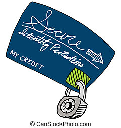 Credit Protection - An image of a secured credit protection...