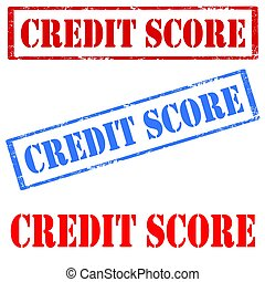 Credit Score-stamps