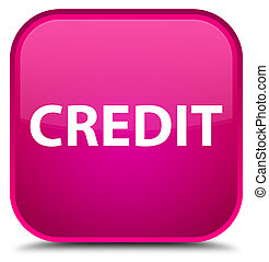 Credit special pink square button