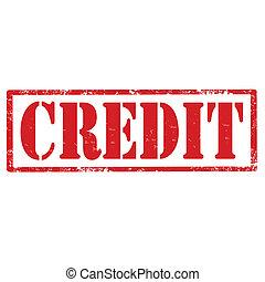 Credit-stamp