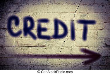 credito, concepto