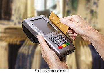 credito, pagamento, scheda