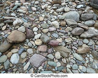 Creek Bed Rocks