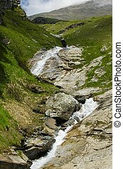 Creek in Alps