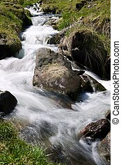 Creek in the Pyrenees