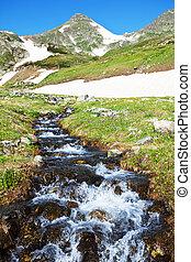 Creek - spring creek in mountains