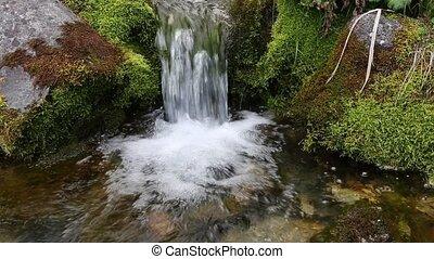creek water stream burst