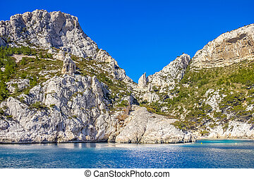 Creeks in Cassis, South of France