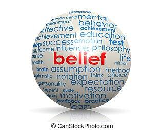 creencia, esfera