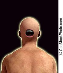 Creepy Back Of Head 3