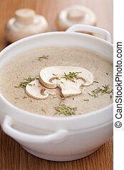 crema, champignon