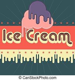 crema, manifesto, vendemmia, ghiaccio