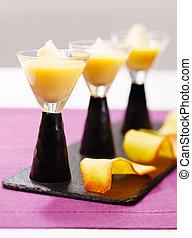 Creme caramel French desert - Creme caramel is a beautiful...