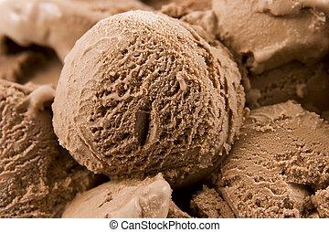 creme gelo chocolate