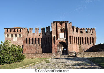 cremona, -, 城, イタリア, soncino