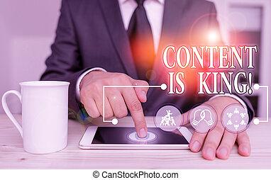 crescendo, significado, conteúdo, focalizado, marketing, pago, busca, texto, letra, conceito, visibilidade, results., king., non