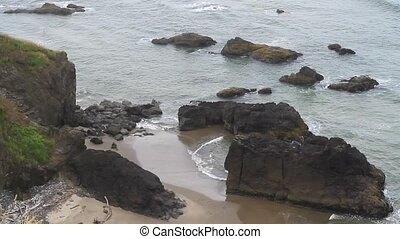 Crescent Bay at Ecola Park Oregon - Crescent Bay at Ecola...