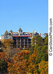 Crescent Hotel in Ozark Mountains - Historic Crescent Hotel ...