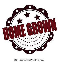 crescido, lar
