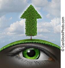 crescimento, visão