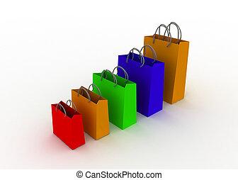 crescita, curva delle vendite