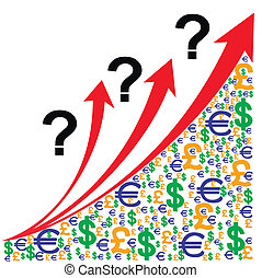 crescita, domanda, grafico