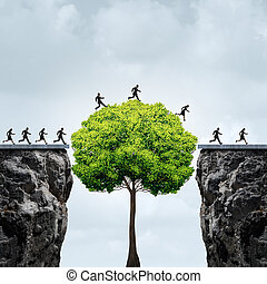 crescita, opportunità, affari