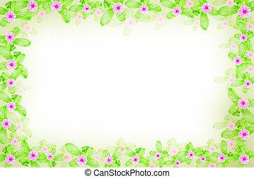 cresson, fleurs
