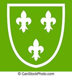 Crest icon green