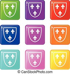 Crest set 9