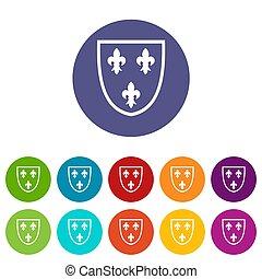 Crest set icons