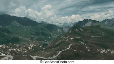 Crete Du Galibier, France - bleached bypass - Graded Version...