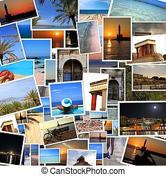 crete, fotos, colección, isla