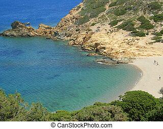 Crete, Kalo Nero beach - Beach near to Kalo Nero, Crete.