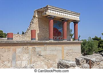 crete, knossos, 宮殿