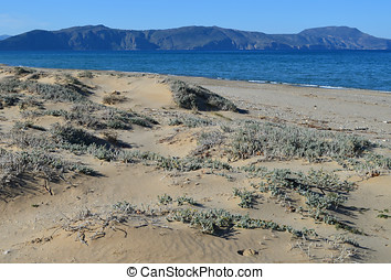 Crete Seascape - Seascape view in Crete Greece